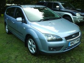 FORD FOCUS 1.8 TDCI CLIMATE 2007 MODEL IN TONIC BLUE WITH FULL SERVICE HISTORY