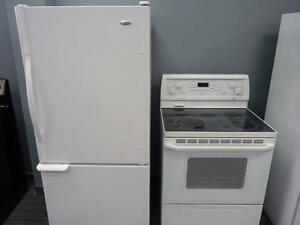 WHIRLPOOL FRIGO CUISINIERE FRIDGE AND STOVE