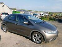 2007 HONDA CIVIC 2.2 EX- CTDI 5 DOOR HATCHBACK GREY