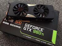 EVGA Geforce GTX 980ti Superclocked 6GB Graphics Card
