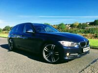 2014 BMW320D SPORT TOURING IMPERIAL BLUE