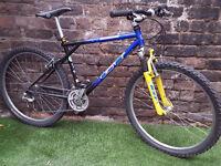"1996 Adults GT TIMBERLINE, 17"" Cromo Fr, 21 Spd, Susp, Bike SERVICED RRP £470"