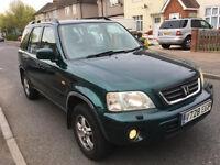HONDA CRV AUTO 4X4 NEW MOT LEATHER SEATS/TOYOTA RAV4/SUZUKI VITARA/HYUNDAI SANTA/AUTOMATIC