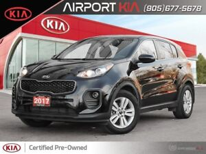 2017 Kia Sportage LX / One owner off lease/Heated seats/Camera