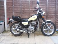 lexmoto vixen 125 125cc , fully serviced, 6 months mot, low mileage
