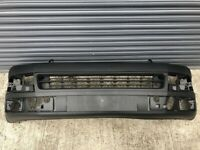 VW TRANSPORTER T5.1 2013 - 2015 FRONT BUMPER DARK GREY TEXTURE FACELIFT