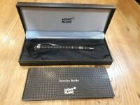 Mont blanc black pen