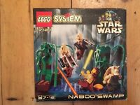 Collectible Official LEGO Star Wars: Naboo Swamp Set 7121