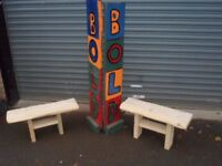 hand made solids bench