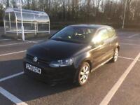 2010 Volkswagen VW Polo 1.2 Petrol in Black 3dr NEW SHAPE low insurance