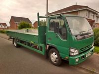 7.5 tonner for hire with driver.