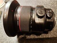 Canon TS-E 24mm F/3.5 II L TS-E Lens Excellent Conition