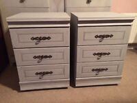 Bedside cabinets shabby Chic