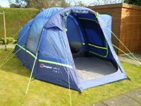 TENT, BERGHAUS AIR 4, PLUS CAMPING EQUIPMENT, EXCELLENT CONDITION.