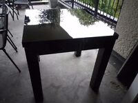 Truly Wonderful Black Extending Dining Table