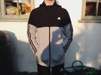 Adidas Linear Full Zip Hoodie Junior