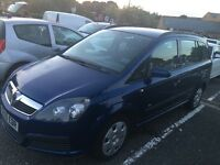 2006/56 Vauxhall Zafira 1.6 Full mot only £995