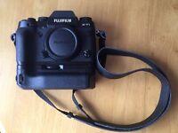 Fujifilm XT1 with Fujifilm battery grip