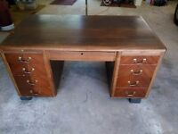 Large old desk