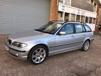 2003 BMW 318i SE Touring Silver NEW MOT