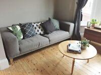 Sullivan 3 Seater Sofa in Ludo Grey in excellent condition