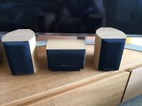 Wharfedale Moviestar 60+ home cinema surround speakers