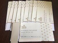 Face VALUE £45 -4 x Royal Ascot Saturday Windsor Enclosure. I am here at Asc