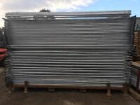 50 X New Temporary Heras Fence Panels ~ Site Security