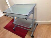 Glass Desk (3 tier)