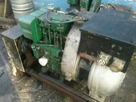 Welder lister 2 cylinder diesel electric start 300 amp