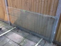 FREE - USED GLASS SHOWER SCREEN - FREE
