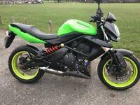 Kawasaki ER6N ER6-N Naked Green
