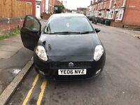 FIAT GRANDE PUNTO SPORTING 1.2 BLACK 2006 £1195