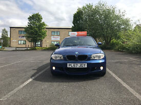 BMW 1 Series 2.0 118d M Sport 5dr FSH. HALF LEATHERS. IMMACULATE