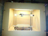 printer 3d 450x450x500 mm aluminiu profile