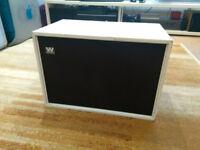Wharfedale Denton 2 XP vintage speakers, painted white