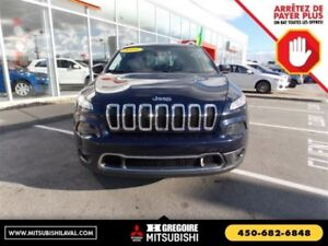2014 Jeep Cherokee Limited 4X4 Cuir-Chauf Uconnect Bluetooth/Cam