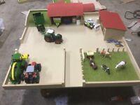 Play farm yard+ sheds