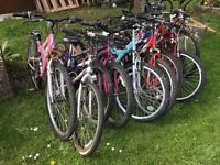 15 x Teenager mountain bikes bicycles for Export