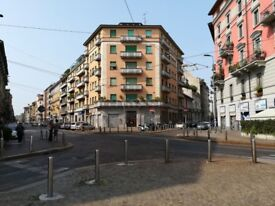 Under refurbishment office space/apartment in the centre of Milan, Italy