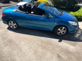 For Sale 2009 Peugeot 307CC Convertible 2.0 HDI Diesel 12 Months MOT £2600.00 ono