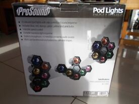 Prosound Pod Lights... for Parties!