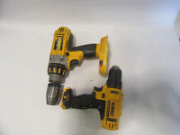 DeWalt DCD710 & DC925 Drills - For Spare Parts