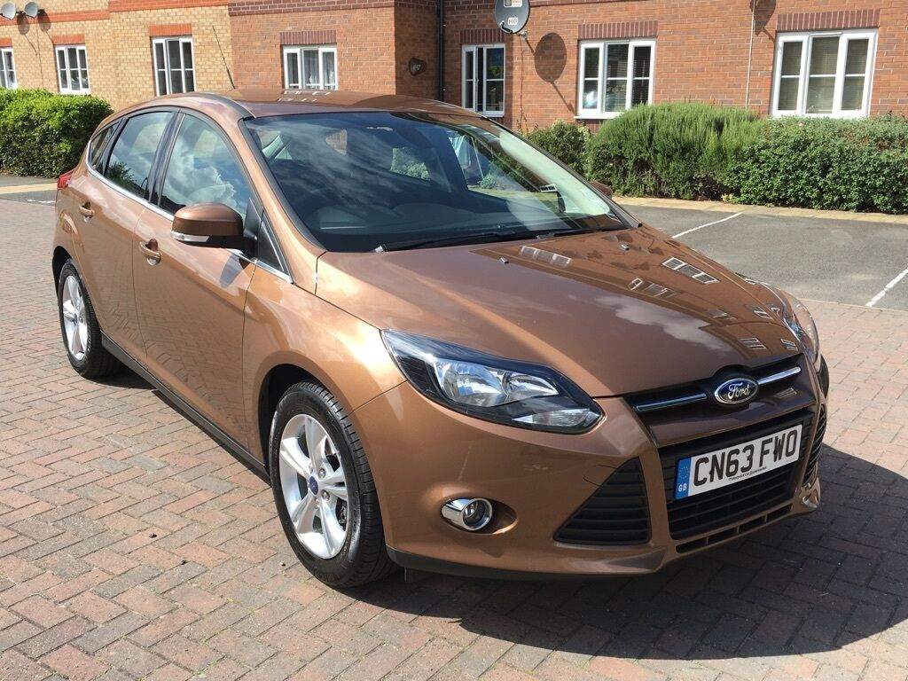 ford focus 1 6 ti vct zetec 5dr brown 2013 in walsall west midlands gumtree. Black Bedroom Furniture Sets. Home Design Ideas
