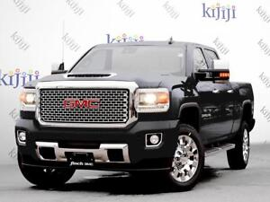 2018 GMC SIERRA 2500 CREW 4X4 LIMITED CONVERTIBLE! LEATHER! HEAT