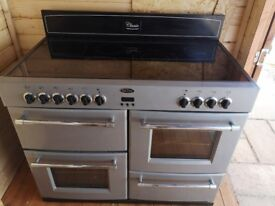 Belling Electric cooker 6 rings 2 ovens and grill