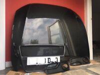 Audi A5 coupe carbon fibre bonnet front grill and fog light covers