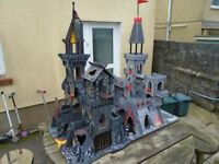 Tower of Doom castle playset, Fortress of Doom, Island and many figures (great kids toy)