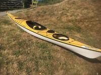 Wilderness systems zephyr pro 16 sea kayak