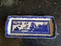 Fenton willow collection victorian porcelain sandwhich tray